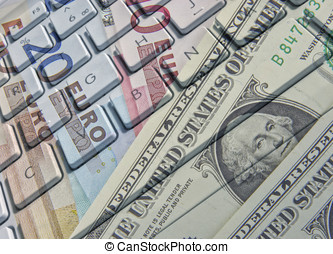 negócio internacional bancário