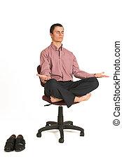 negócio, ioga, #179