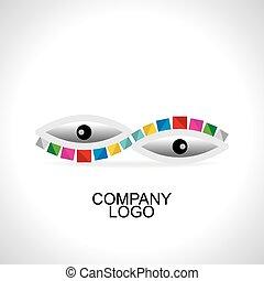negócio, logotipo