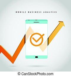 negócio móvel, análise
