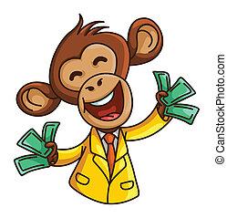 negócio macaco