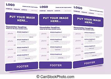 negócio, modelo, organização, non-profit, newsletter, ou