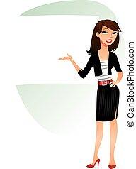 negócio mulher