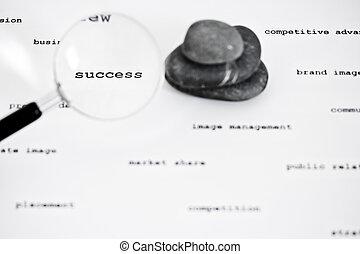 negócio mundo, sucesso, achar