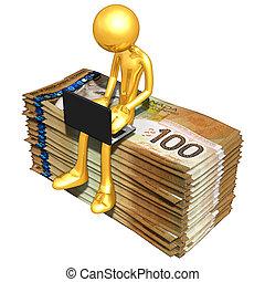 negócio online bancário