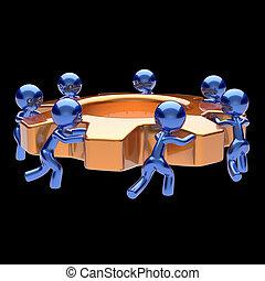 negócio, processo, cogwheel, trabalho, gearwheel, trabalho equipe, equipe