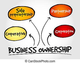 negócio, propriedade