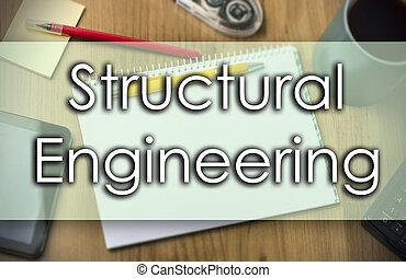 negócio, texto, -, estrutural, conceito, engenharia