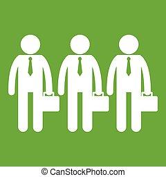 negócio verde, ícone