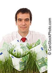 negócio verde, conceito