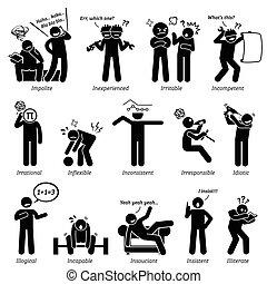 Negative Character Traits - Negative personalities traits,...