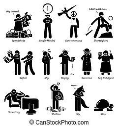 Negative Character Traits