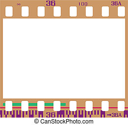 negative film frame