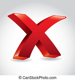 negative icon - Negative icon over white background vector...