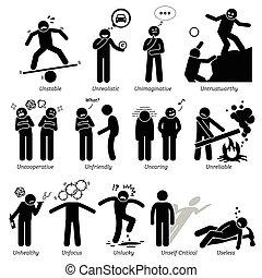 Negative Personalities - Negative personalities traits,...
