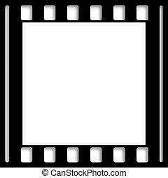 Negative Photo Film Border