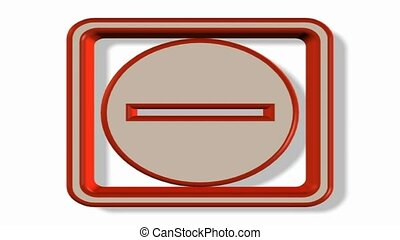 Negative sign