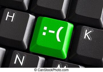 negative smilie