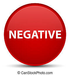 Negative special red round button