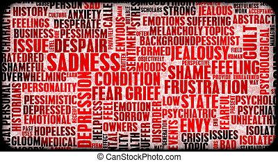 negativo, emociones