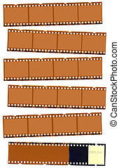 negativo fotografico, striscia cinematografica