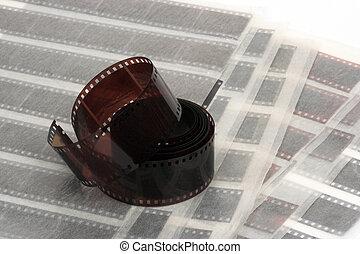 negativo, película