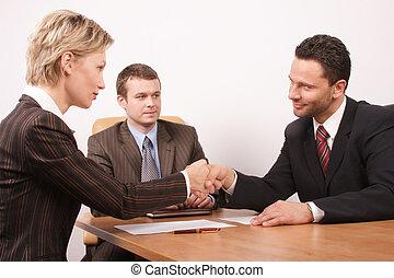 negociação, é, sobre