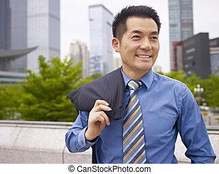 negocio asiático, ejecutivo