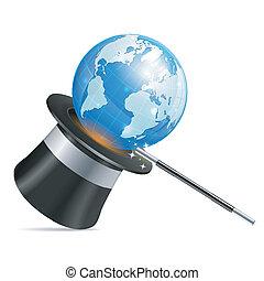negocio global, concepto