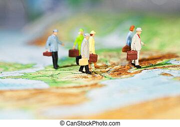 negocio internacional, cooperación
