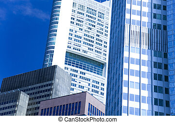 negocio moderno, edificio