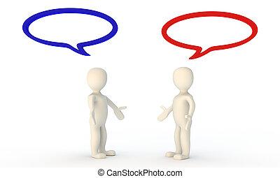 Negotiation chat