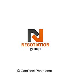 Negotiation group vector sign - Negotiation group vector...