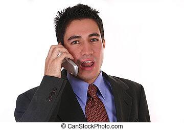 Negotiation IV - Salesman on the phone