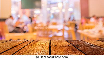 negozio caffè, priorità bassa vaga