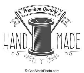 negozio, premio, fatto mano, tessile, prodotti, qualità