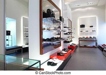 negozio scarpa