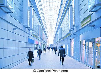 negozio, visitatori