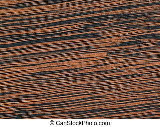 negro, ébano, chapa, -, hermoso, de madera, plano de fondo, con, un, naranja, patrón, -, alto, resolución, foto