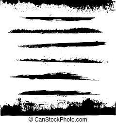 negro, blots