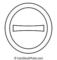 negro, estilo, icono, color, fuente, carta, vector, símbolo...