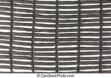 negro, mantel individual