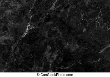 negro, natural, mármol, patrón