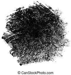 negro, punto