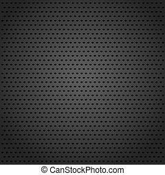 negro, resumen, metal, plano de fondo