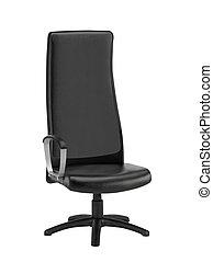 negro, silla de la oficina