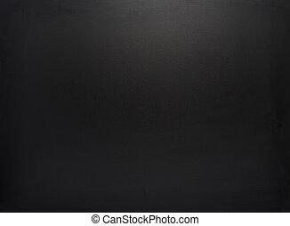 negro, tabla, textura, limpiado