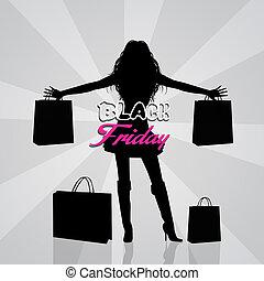 negro, viernes