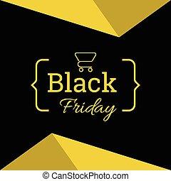 negro, viernes, sale.