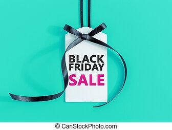 negro, viernes, venta